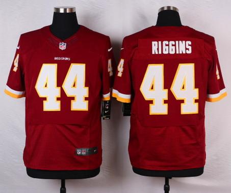 675df9bac67 Men's Washington Redskins #44 John Riggins Burgundy Red Team Color NFL Nike  Elite Jersey