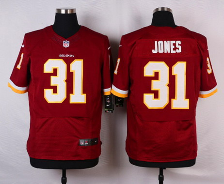Jerseys NFL Sale - Men's Washington Redskins #31 Matt Jones Burgundy Red Team Color ...