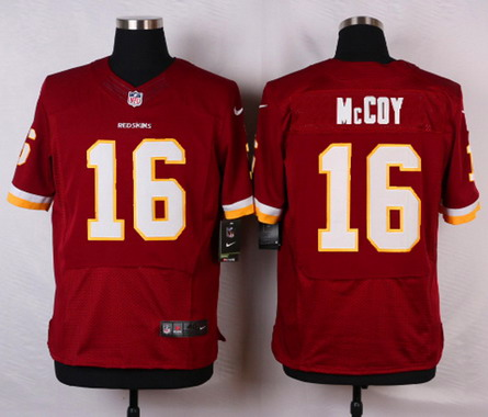 e084914ac9c ... 12 NFL Washington Redskins Mens Washington Redskins 16 Colt McCoy  Burgundy Red Team Color NFL Nike Elite Jersey ...