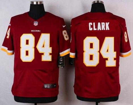 mens washington redskins 84 gary clark burgundy red retired player nfl nike elite jersey