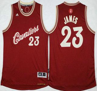 Men's Cleveland Cavaliers #23 LeBron James Revolution 30 Swingman ...