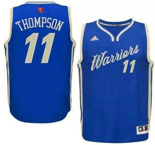... Mens Golden State Warriors 11 Klay Thompson Revolution 30 Swingman 2015  Christmas Day Blue Jersey ... 8cc00efdf