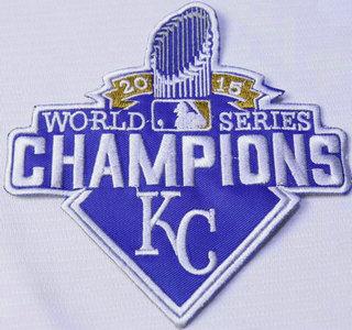Kansas City Royals 2015 World Series Champions Patch