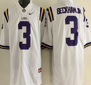 e8546c037 ... 42 Michael Ford White Jersey LSU Tigers 11 Spencer Ware Purple Jersey  LSU Tigers 3 Odell Beckham Jr. White 2015 College Football Nike Limited  Jersey ...