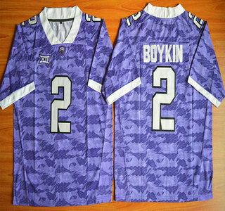 TCU Horned Frogs #2 Trevone Boykin Purple 2015 College Football Jersey
