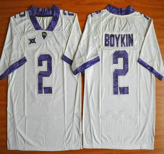 TCU Horned Frogs #2 Trevone Boykin White 2015 College Football Jersey