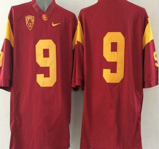 USC Trojans #9 Red 2015 College Football Nike Limited Jersey