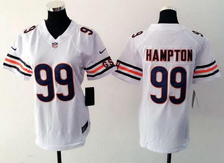 Official Nike Jerseys Cheap - Women's Chicago Bears #94 Leonard Floyd White Road NFL Nike Game ...