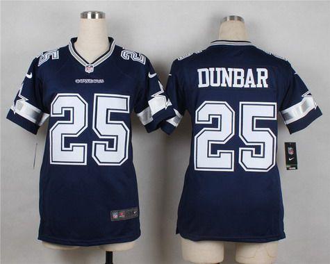 Nike jerseys for sale - Women's Dallas Cowboys #25 Lance Dunbar Navy Blue Team Color NFL ...