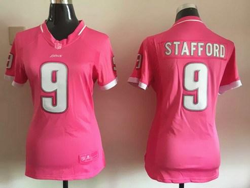 Jerseys NFL Cheap - Women's Detroit Lions #21 Ameer Abdullah Pink Bubble Gum 2015 NFL ...