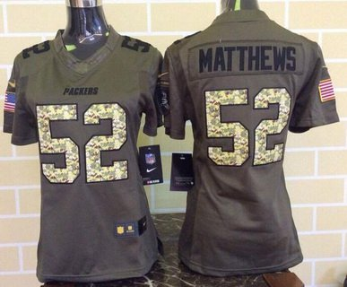 ... AARON RODGERS Green Bay Packers Nike LIMITED Gridiron Grey Jersey  Stitched LARGE Womens Green Bay Packers 52 Clay Matthews Green Salute To  Service 2015 ... 7d9cf3285