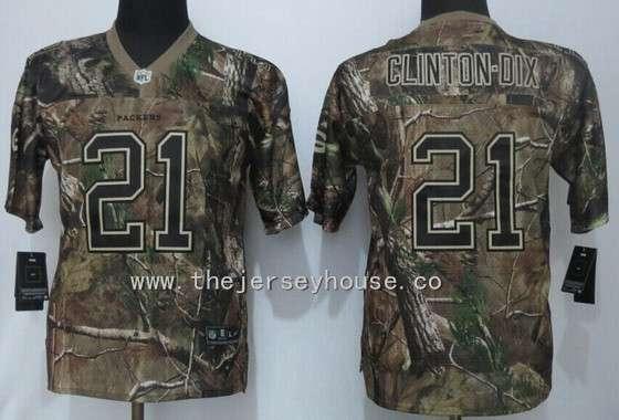 Cheap NFL Jerseys - Youth Green Bay Packers #21 Ha Ha Clinton-Dix Camo Realtree NFL ...