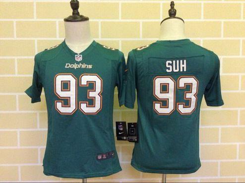 93 Ndamukong Suh Miami Dolphins nike