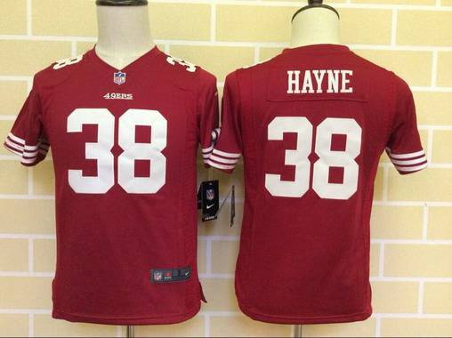 Top Womens San Francisco 49ers 38 Hayne White Nike Jerseys