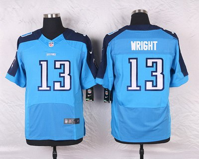 Youth Tennessee Titans Kendall Wright Nike Light Blue Alternate Game Jersey