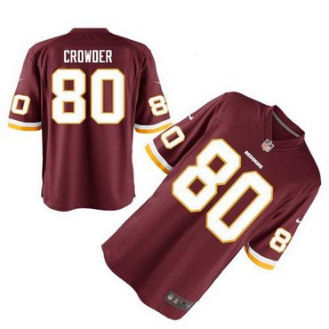 e58d697ef24 ... Mens Washington Redskins 80 Jamison Crowder Burgundy Red Team Color NFL  Nike Elite Jersey Mens Nike Washington Redskins Customized ...