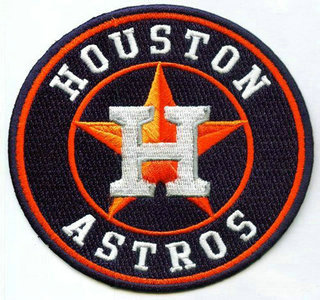 Houston Astros Team Logo Jersey Sleeve Patch