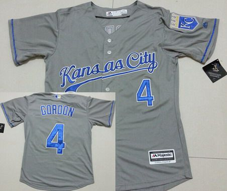 kansas city royals grey jersey