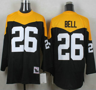 Men's Pittsburgh Steelers #26 LeVeon Bell Black 1967 Home Throwback NFL Jersey