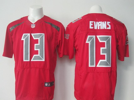 NFL Jersey's Men's Tampa Bay Buccaneers Mike Evans Nike Red Limited Jersey