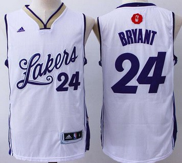 low priced 57005 2b644 los angeles lakers kobe bryant christmas jersey