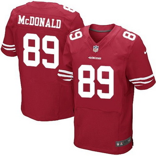 Cheap NFL Jerseys NFL - Men's San Francisco 49ers #32 Ricky Watters Scarlet Red Retired ...