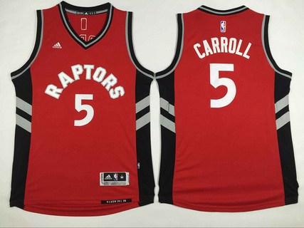 5bc34042bd39 Men s Toronto Raptors  5 DeMarre Carroll Revolution 30 Swingman Red Jersey