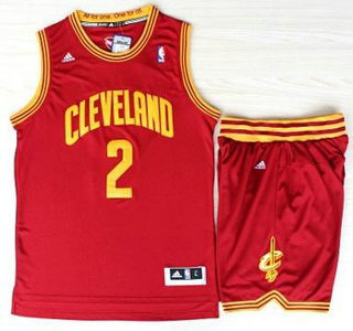 Cleveland Cavaliers 2 Kyrie Irving Red Revolution 30 Swingman ...