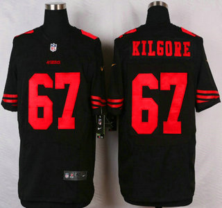 GAME San Francisco 49ers Daniel Kilgore Jerseys