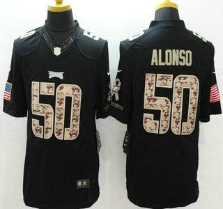 Cheap NFL Jerseys Online - Philadelphia Eagles #50 Kiko Alonso Nike Salute to Service Nike ...
