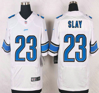42fe8a60 Detroit Lions #27 Glover Quin White Road NFL Nike Elite Jersey on ...