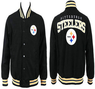 Pittsburgh Steelers Black Jacket FG