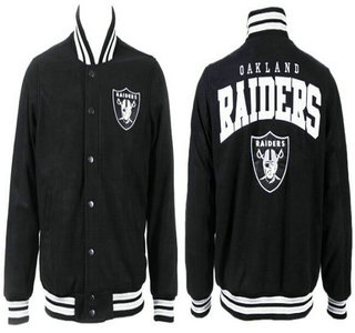 Oakland Raiders Black Jacket FG