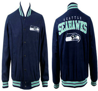 Seattle Seahawks Navy Jacket FG