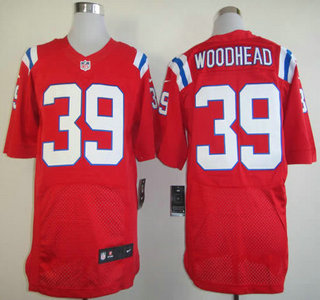 1cdd587259f Nike New England Patriots  95 Chandler Jones Red Elite Jersey on ...