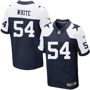 6ed3d481645 Men's Dallas Cowboys #54 Randy White Navy Blue Thanksgiving Retired Player  NFL Nike Elite Jersey