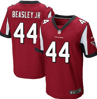ID104105 Men\'s Atlanta Falcons #44 Vic Beasley Jr Red Team Color NFL Nike Elite Jersey