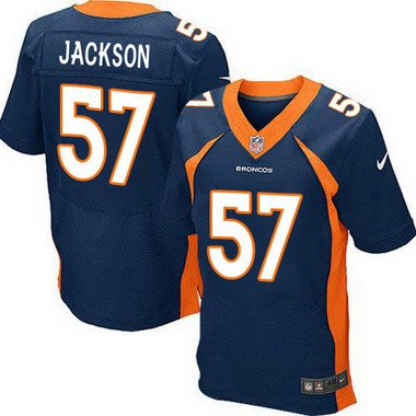 ID103856 Men\'s Denver Broncos #57 Tom Jackson Navy Blue Retired Player NFL Nike Elite Jersey