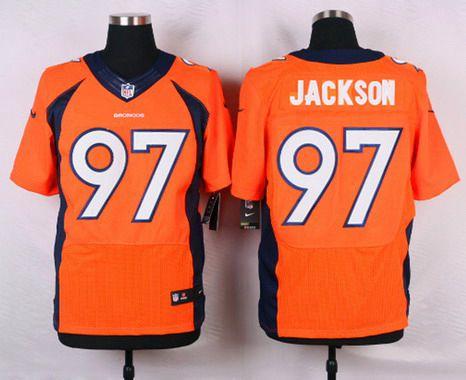 ID103840 Men\'s Denver Broncos #97 Malik Jackson Orange Team Color NFL Nike Elite Jersey