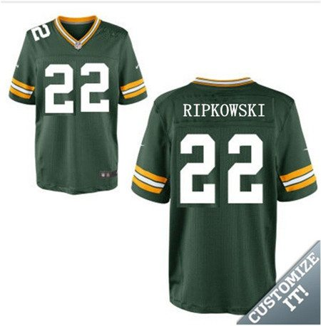 Green Bay Packers Aaron Ripkowski ELITE Jerseys