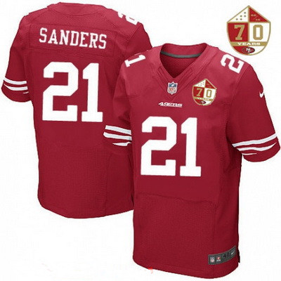 f7412c70 Men's San Francisco 49ers #29 Jaquiski Tartt Scarlet Red 70th ...