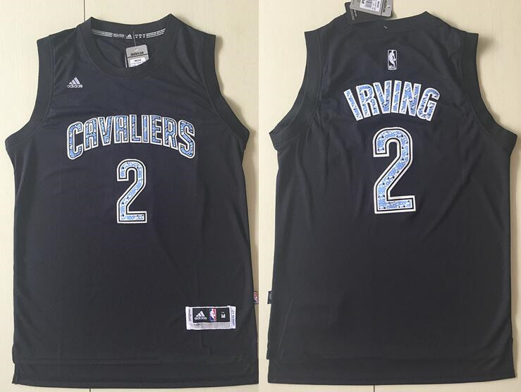 ... Mens Cleveland Cavaliers 2 Kyrie Irving Black Diamond Stitched NBA  Adidas Revolution 30 Swingman Jersey ... 9a6a7a603