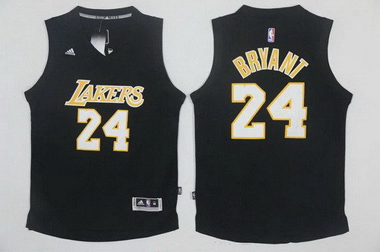 51c458e3a7d ... Jersey Mens Los Angeles Lakers 24 Kobe Bryant Black With White Stitched  NBA Adidas Revolution 30 Nike Golden State Warriors Nick Van Exel ...