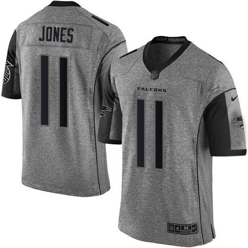 nike falcons 11 julio jones gray mens stitched nfl limited gridiron gray jersey gallery mens nike atlanta
