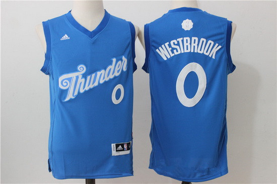 367180f46b03 ... revolution 30 jerseys mens oklahoma city thunder 0 russell westbrook  adidas blue 2016 christmas day stitched