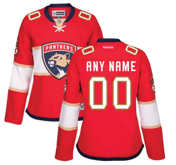 dc63608fc03 Youth Florida Panthers Reebok Red Home Premier Custom Jersey on sale ...