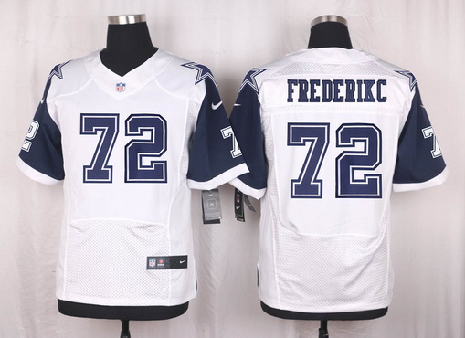 ID101948 Men\'s Dallas Cowboys #72 Travis Frederick Nike White Color Rush 2015 NFL Elite Jersey