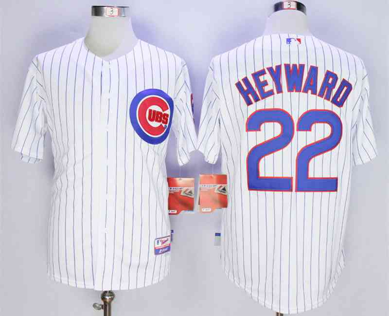 bc287604c Men s Chicago Cubs  22 Jason Heyward White Cool Base Jersey on sale ...