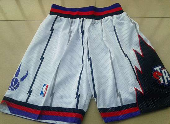 Men's Toronto Raptors White Swingman Short