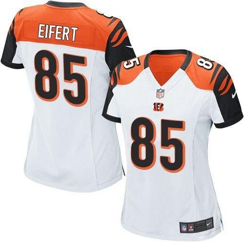 ... Womens Cincinnati Bengals 85 Tyler Eifert White Road NFL Nike Game Jersey  Women Nike Cincinnati Bengals 18 A.J. Green Orange ... dc7f06935